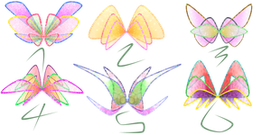 Winx Club: FREE Harmonix Wing Adoptables by ShimmeringMagic