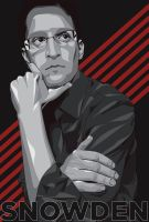 Edward Snowden by niifz336