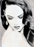 Megan Fox......minimal by PaulTHutchins