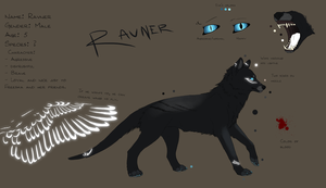 Ravner Ref sheet by Freeska