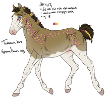 1117 Padro Foal Design for Feya-san by KimboKah