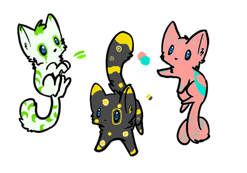 Cheap kitty point Adopts: 5-10 points by perfection-rebel