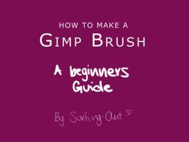 Make a GIMP Brush by surfing-ant