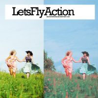 Lets fly action by Hesavampire