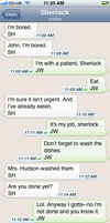 The Personal Text Log of Dr. John Watson Pt. 1a by blissfulldarkness