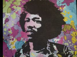 Jimi Hendrix by Mr-Candyman