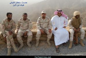 Saudi army in the battle front by saudi6666