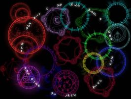 Magic Circles by blacky412