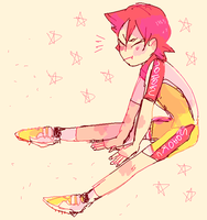 stretching first year by midousuji