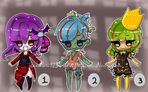 Halloween Collab Adopt's :Open: by All-G