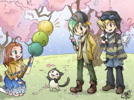 TM - Hanami Dango and Friends by sanna-mania