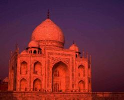 Domed building at sunset by Star-Grace