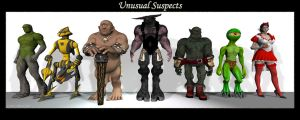 Unusual Suspects by Ascavilya