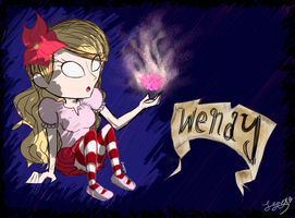 Wendy from Dont Starve by Peachrose