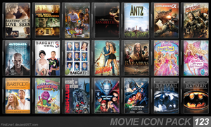 Movie Icon Pack 123 by FirstLine1
