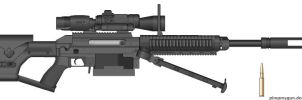 Misriah Arms SRS-450D S1-AM by Chris000