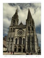 Chartres Cathedral by laurentroy