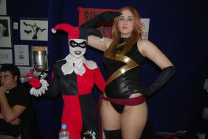 SN 2010-Harley Quinn Ms Marvel by KaytieB