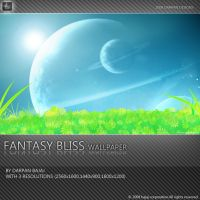 Fantasy bliss wallpaper by darpan-aero