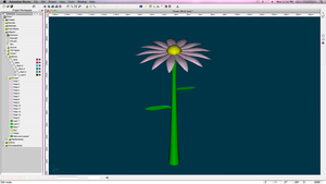 Animation Model- Flower by XtremeZee