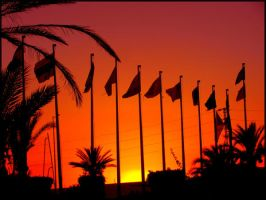 Sunset on Djerba 04 by garbo009