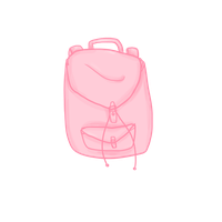 Pink Backpack by AL11-scarlettt