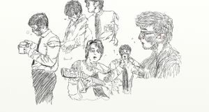 John and Paul practices by ILoveGeorge6998