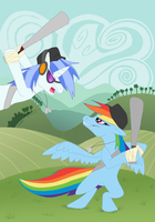 Ponyshowdownnn by Iekeby