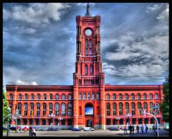 Rathaus HDR by BerlinFreak