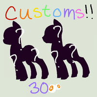 Customs Wow ++ CLOSED for now ++ by Rainbow-ninja-adopts