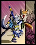 Starfox : Falling for Wolf by Aivilo0