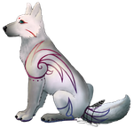 Commission 2 - Wolf Puppy by Yrior
