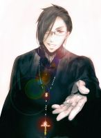 Your dormitory master, Sebastian Michaelis by Fruits-and-Spears