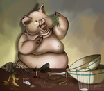 Pig Out by Naoki-Wolf