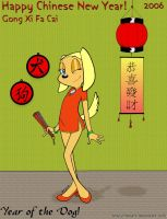 Brandy greets Chinese New Year by mtzart