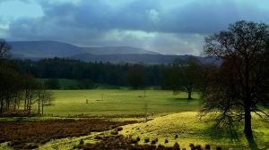 Drumlanrig Castle Grounds View by Asgard-media