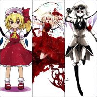 Flandre Scarlet all by Noir-Black-Shooter