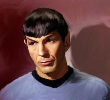 Mr. Spock by scott-the-stampede