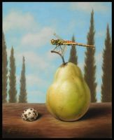 Hitching Pear by LindaRHerzog
