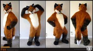 Fox fullsuit by FarukuCostumes