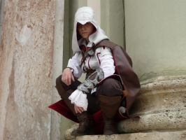 animuc 10 - Ezio Auditore by LadyBad