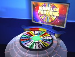 Wheel of Fortune 3D by raeljalin