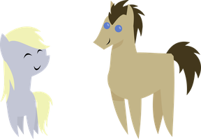 Doctor Whooves{mini Derpy} by Peora