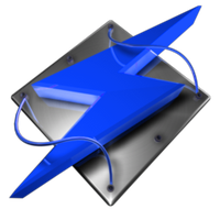 Winamp Tech Blue Dock Icon by climber07