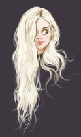 White Hair by DylanBonner