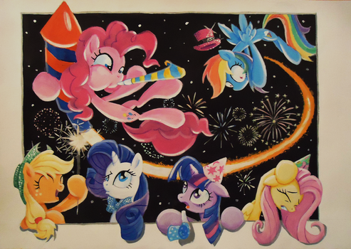 This Year Is Going With A Bang! - Contest Entry by Graffegruam