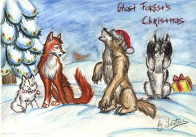 Christmas in the Ghost Forest by Yantus
