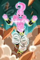 Kid Buu by Rinexperience