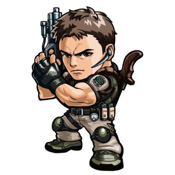 Resident Evil Chris Redfield Mini Render by FirionPrime