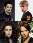 which couple you prefer ed bella or peeta Kat by Bleach-Fairy